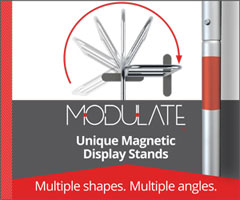 Modulate Customisable Exhibition Stand System