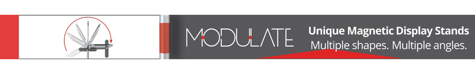 Modulate customisable exhibition stand