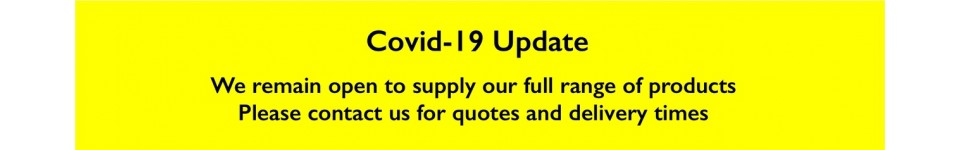 Covid-19 Update - We remain open to supply our full range of products