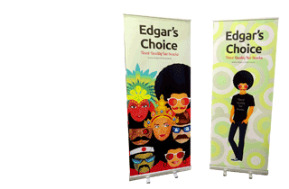 Roller banners and pull up banners of all sizes