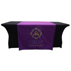 Colour Match Embroidered Tablecloth