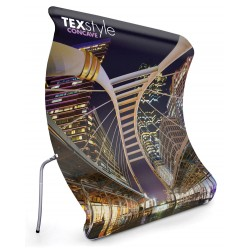 Tension Fabric Exhibition Stand - Concave