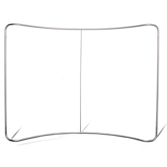 Fabric Display Stand - Curved