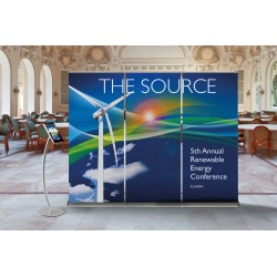 Linked Roller Banner Stand